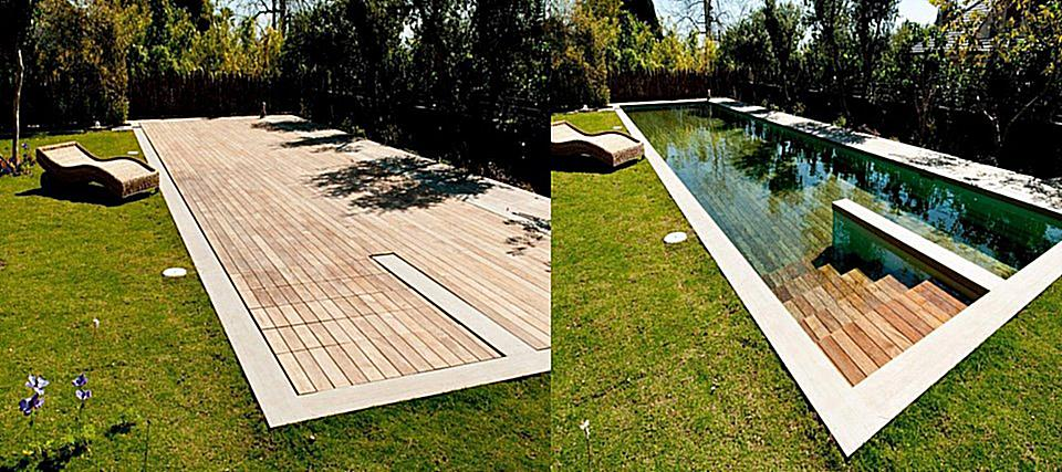Pools that move us growing rooms landscapes for for Piscine escamotable