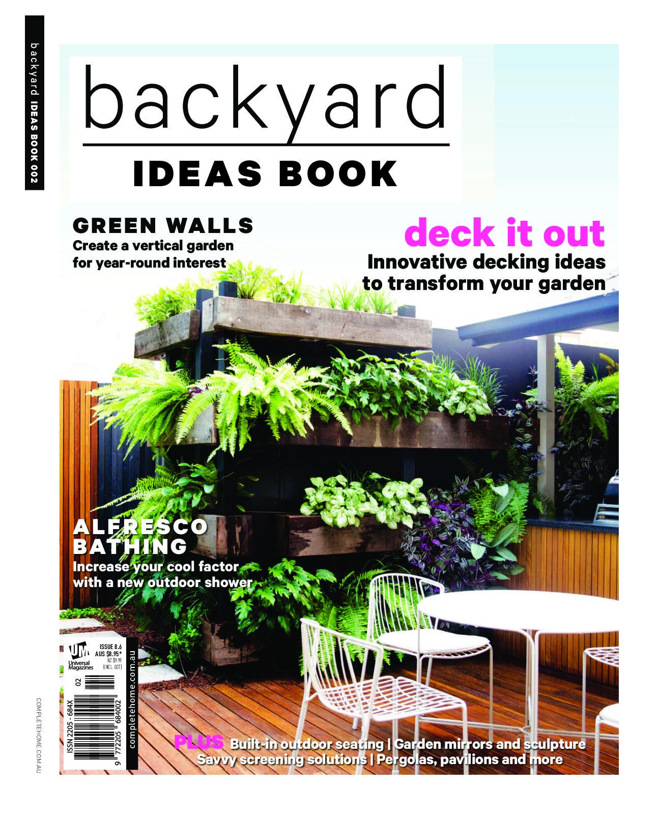 Backyard ideas book 2017 growing rooms landscapes for for Garden design ideas book